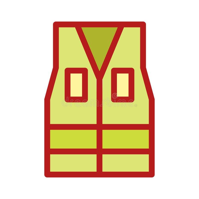 Ställ in av för västomslaget för den arbets- dagen Vector Flat Color för gruvarbetaren för arbetaren för arsenalen symboler Redig royaltyfri illustrationer