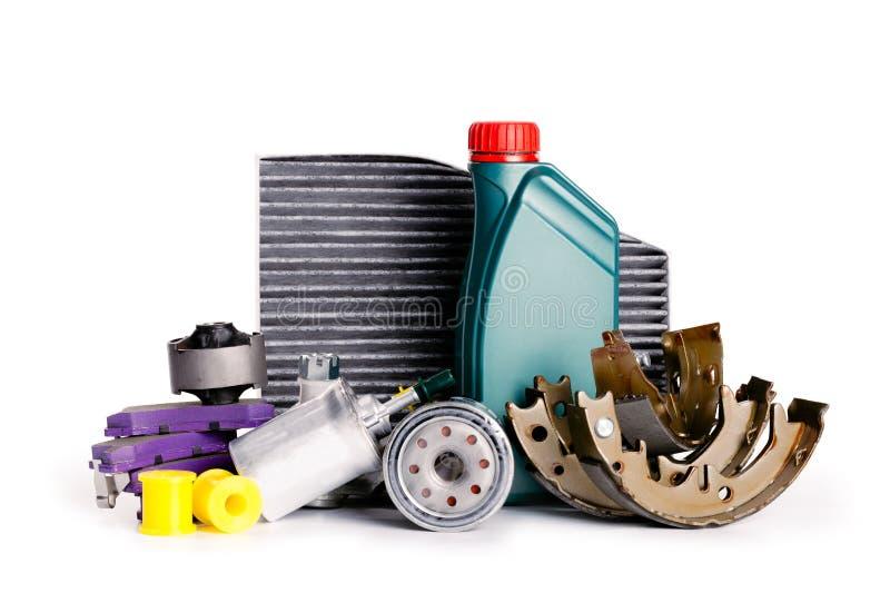 Ställ in av nya olika bildelar som är nödvändiga för medelservice fotografering för bildbyråer