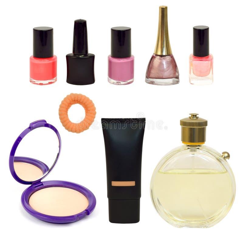 Ställ in för makeup arkivbild