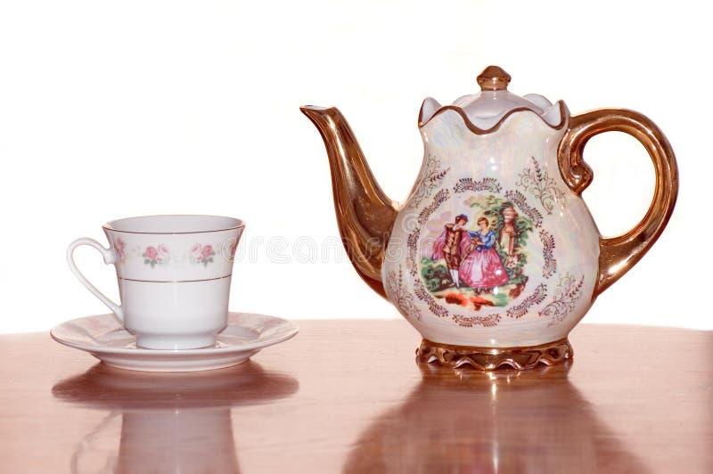 Download Ställ in tea fotografering för bildbyråer. Bild av kök - 286059
