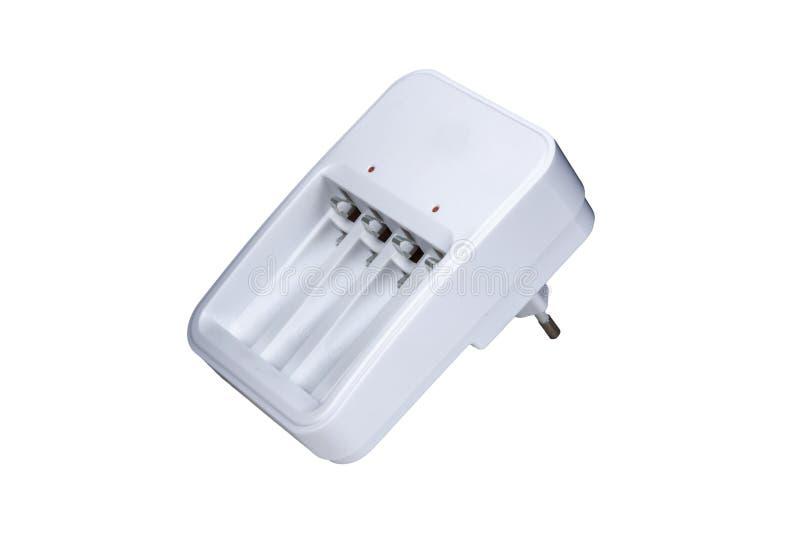 ställa in en serie batterier av AA-storlek isolerade på vit bakgrund royaltyfri fotografi