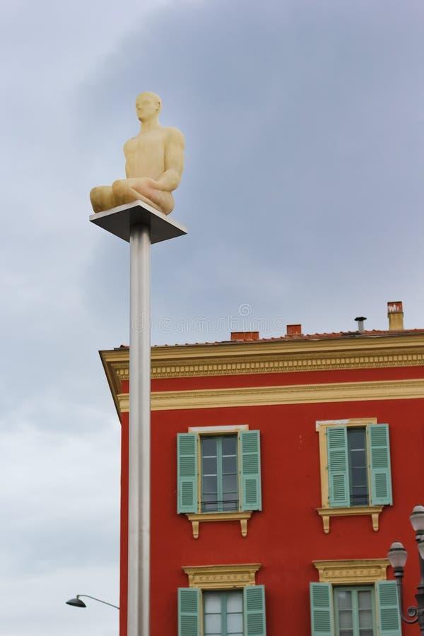 Ställe Massena Nice Frankrike royaltyfri foto