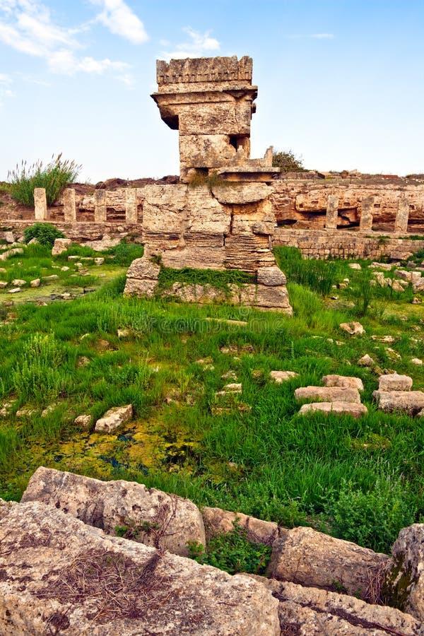 ställesyria för amrit forntida tartus royaltyfri foto