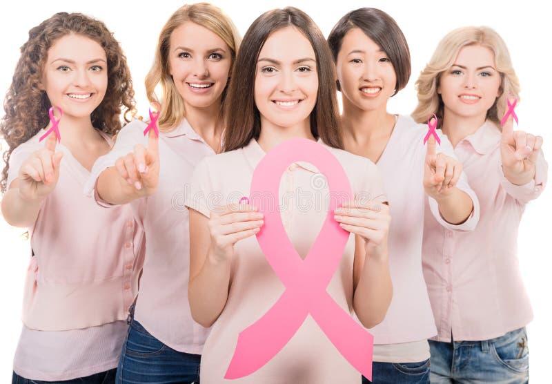 stämpel för fund för find för bröstcancerbotslagsmål post arkivfoto