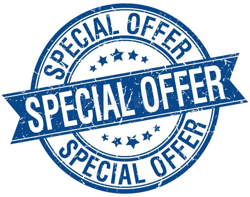 Stämpel för specialt erbjudande royaltyfri illustrationer