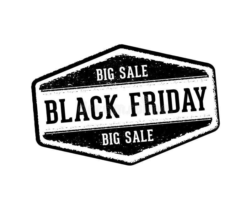 Stämpel för vektoretikettetikett för tacksägelseproduktförsäljning, kalkonkött, svarta fredag, stor försäljning och rabatt vektor illustrationer
