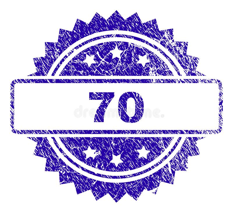 Stämpelskyddsremsa för Grunge 70 vektor illustrationer
