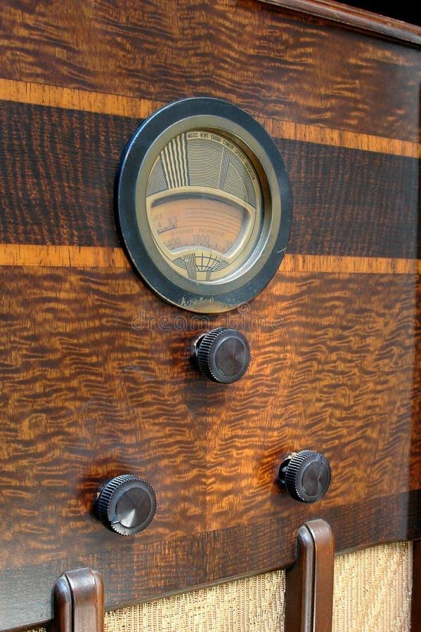 stäng radiouo-tappning arkivbild