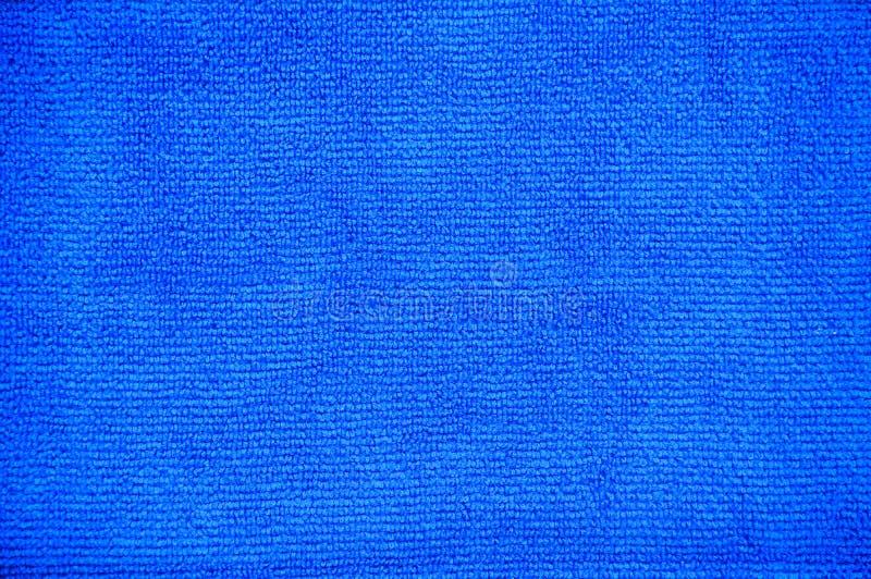 Stäng sig upp av för fibertorkduken för mång- avsikt blå mikrotextur för bakgrund royaltyfri fotografi