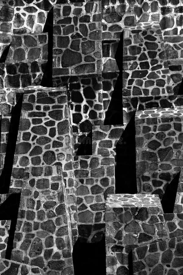Stäng sig upp av trappuppgången, Aten, Grekland arkivbild