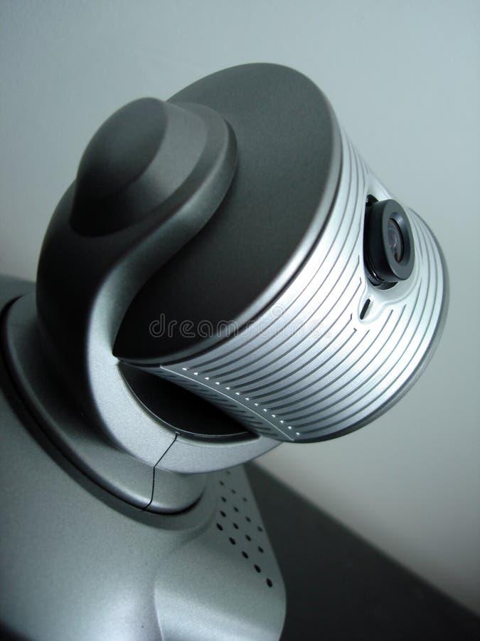 stäng sig upp webcam arkivbilder