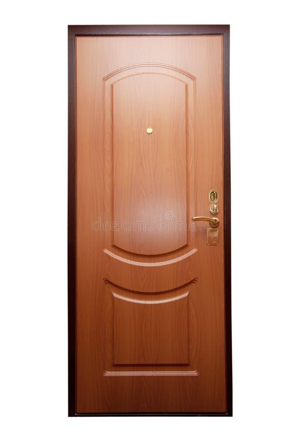 stängd dörr arkivbild