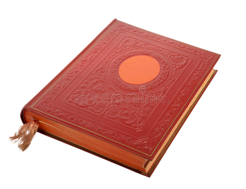 stängd red för bok arkivbilder