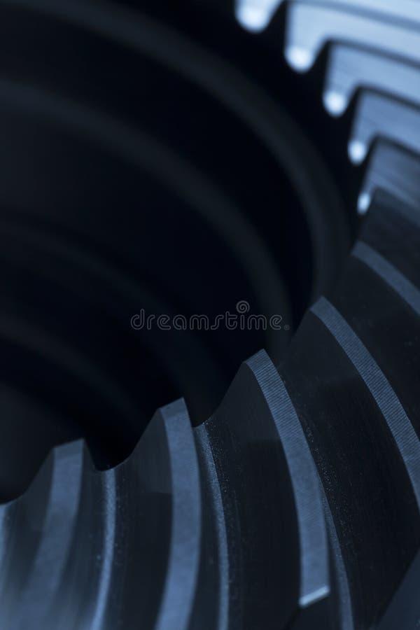 Stängning av ett kukhjul fotografering för bildbyråer