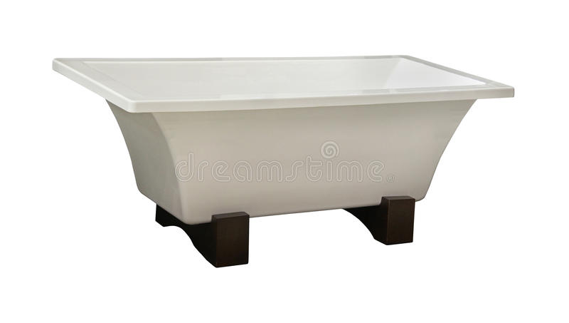Stå badkar för själv arkivbild