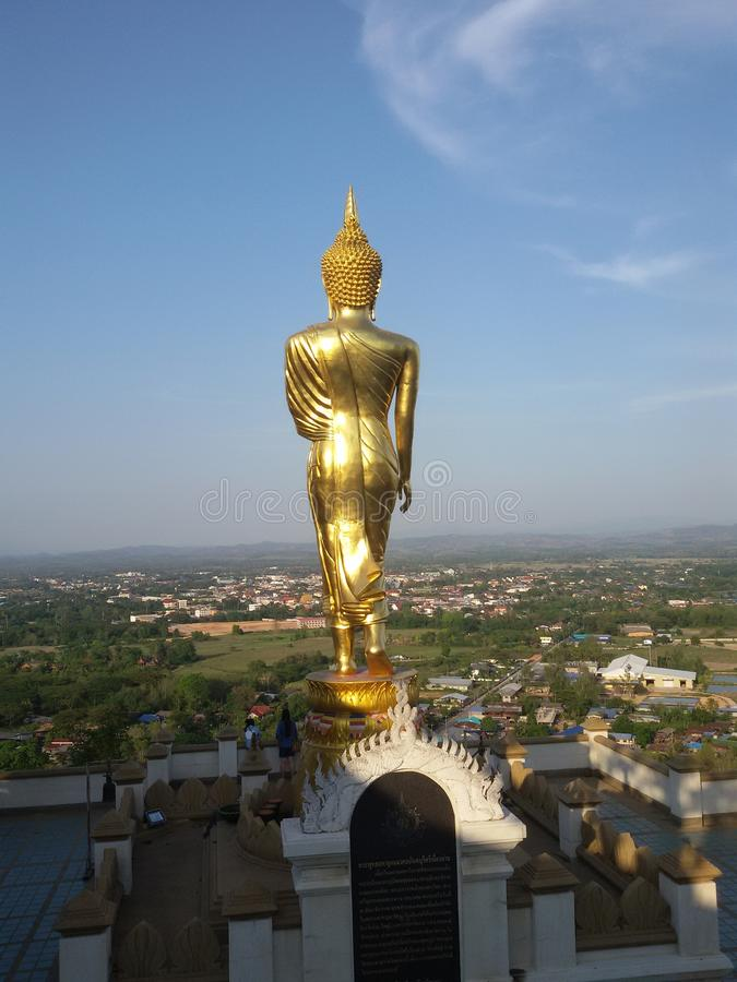 Stå Buddha arkivfoton