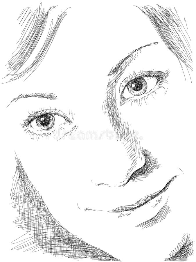 stående vektor illustrationer