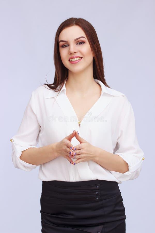 Stående av affärskvinnan arkivbild