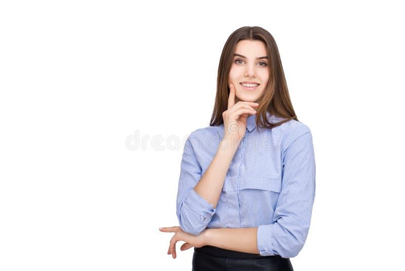 Stående av affärskvinnan royaltyfria bilder