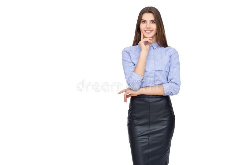 Stående av affärskvinnan royaltyfri bild