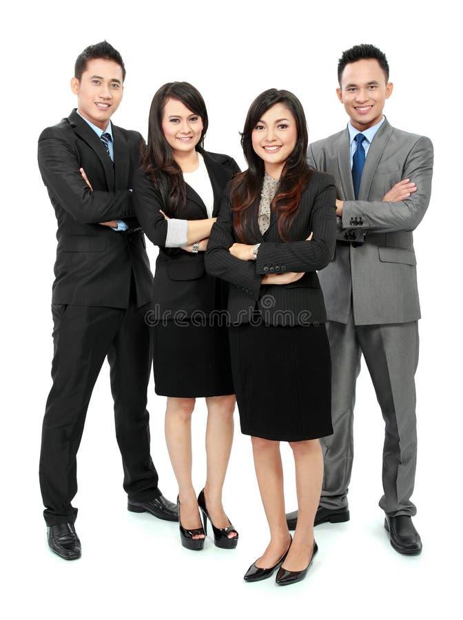 Stående av att le för kontorsarbetare royaltyfria bilder
