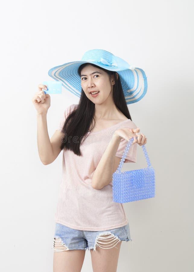 Stående av den asiatiska unga härliga flickan royaltyfria bilder
