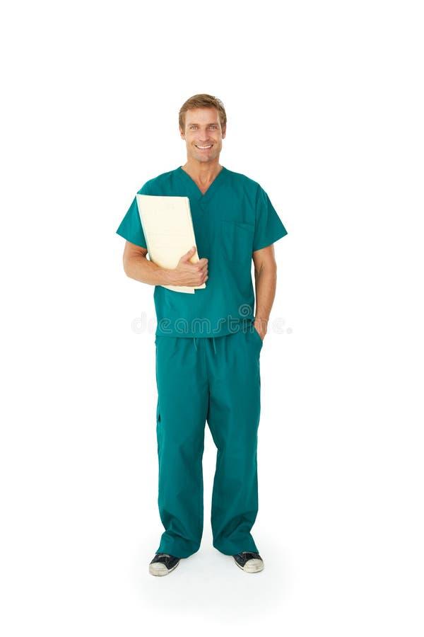 Stående av den medicinska professionelln arkivbild