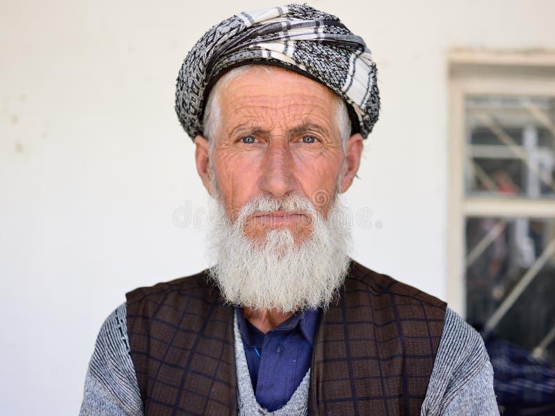 Stående av det afghanskt från Pamir berg arkivfoton