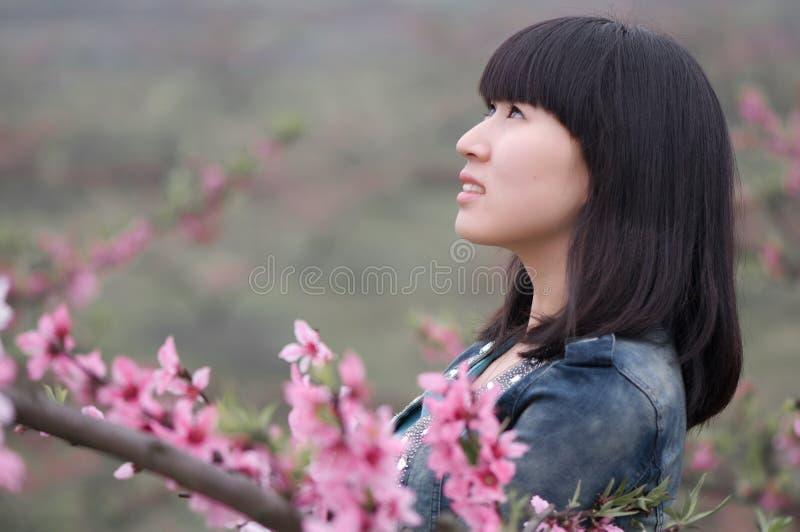 Stående av en kinesisk flicka arkivbild