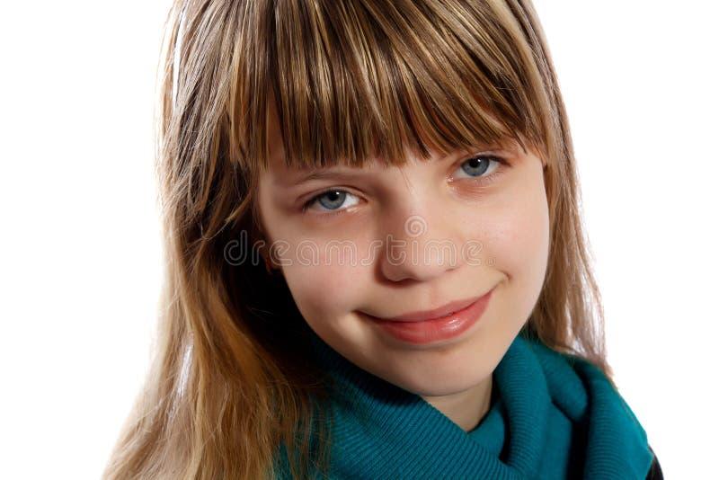 Stående av en tonårs- flicka royaltyfri bild