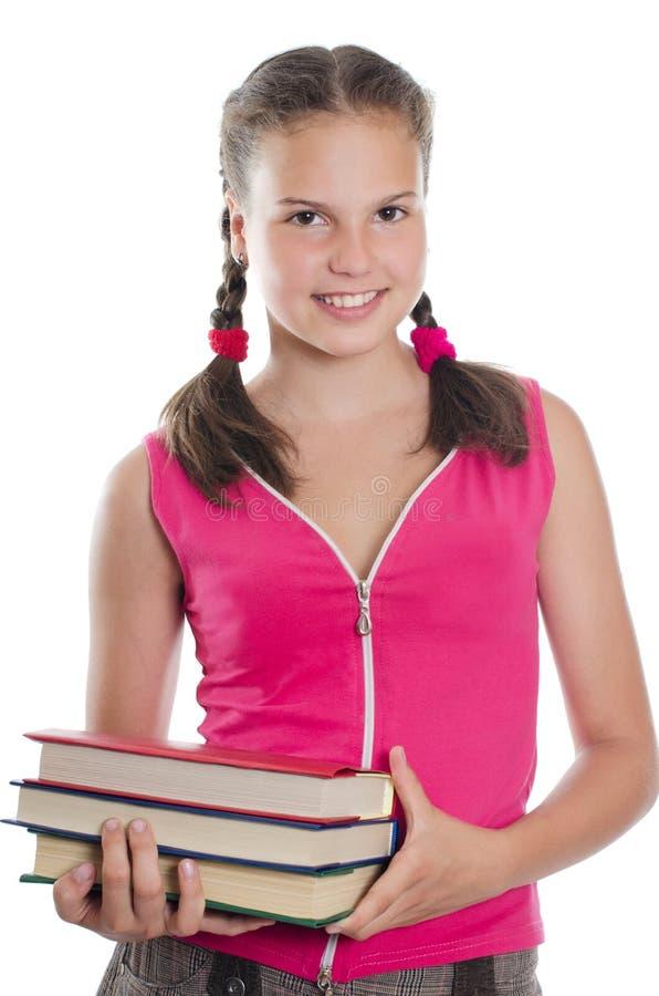 Stående av unga flickan royaltyfri fotografi