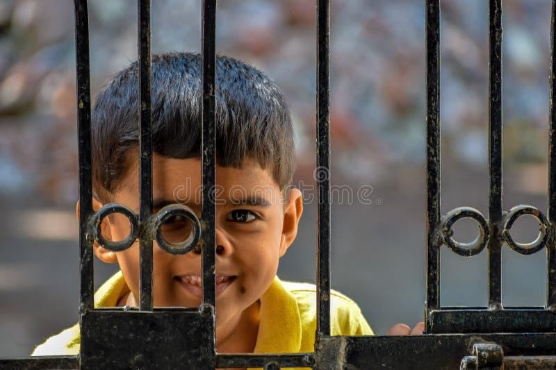 Stående av ungen fotografering för bildbyråer