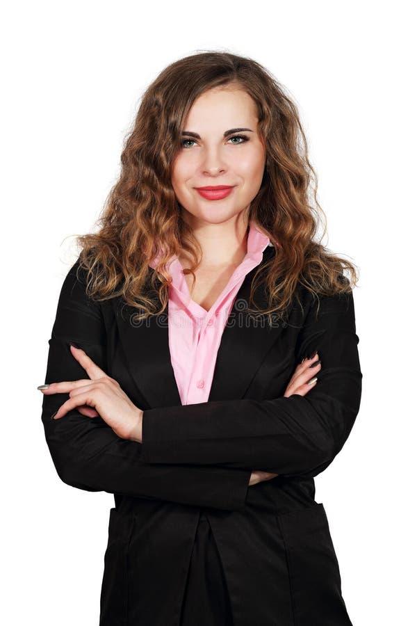 Stående för affärskvinna royaltyfri bild