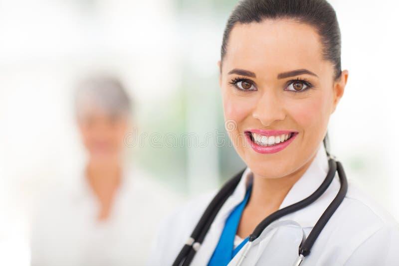 Stående för medicinsk arbetare royaltyfria bilder