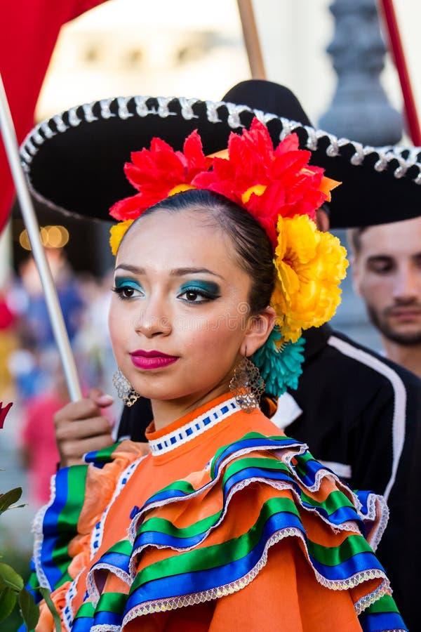 Stående från Mexico royaltyfri foto