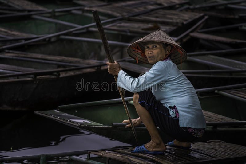 Stående Vietnam arkivfoton