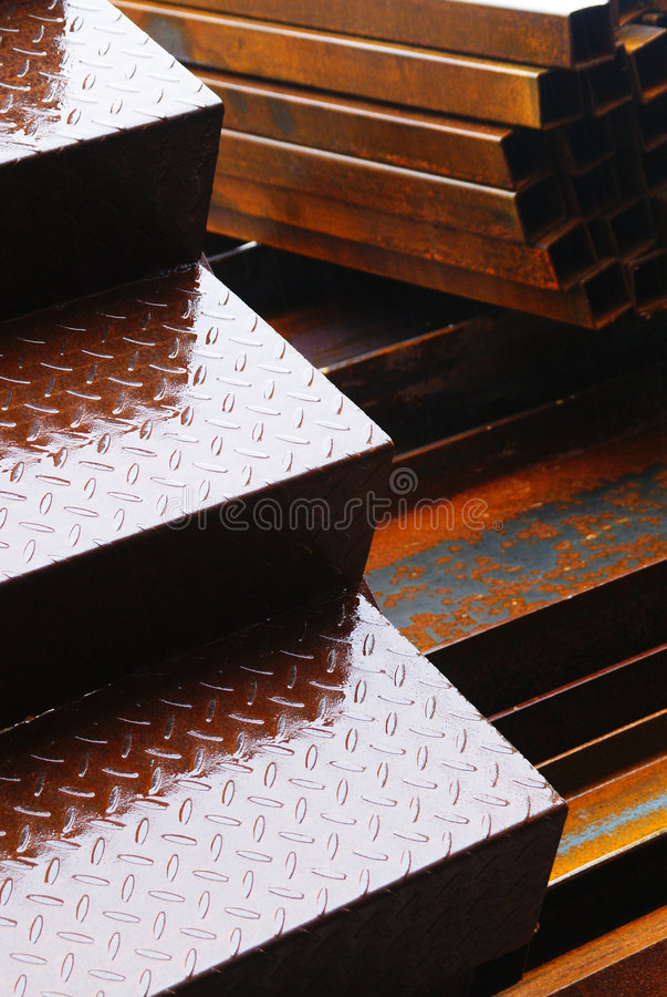 stål royaltyfri foto