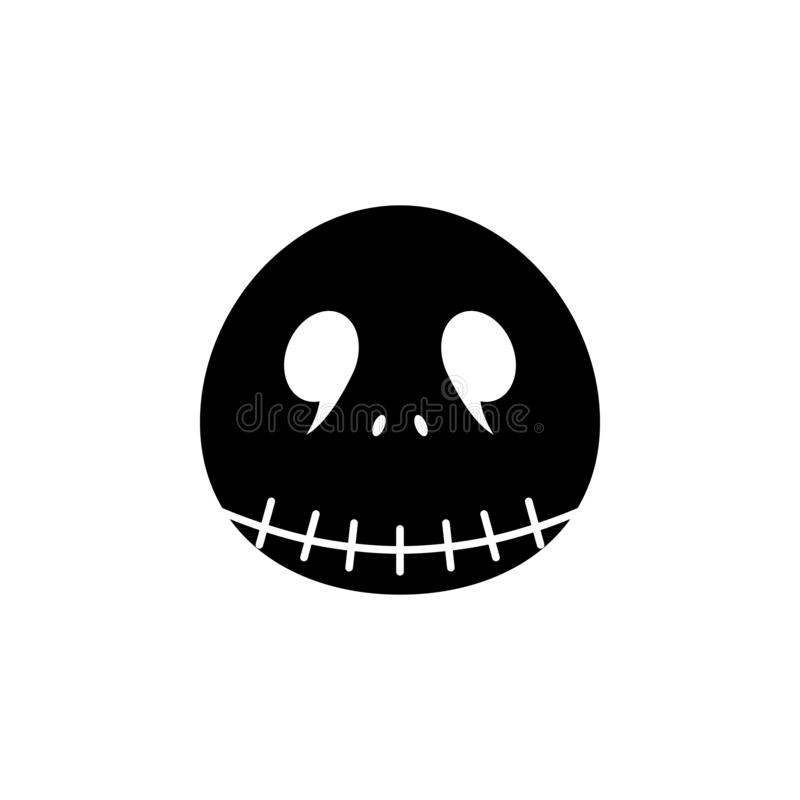 Stålarsymbol Beståndsdel av spökebeståndsdelillustrationen Tunn linje illustration för websitedesignen och utveckling, app-utveck stock illustrationer