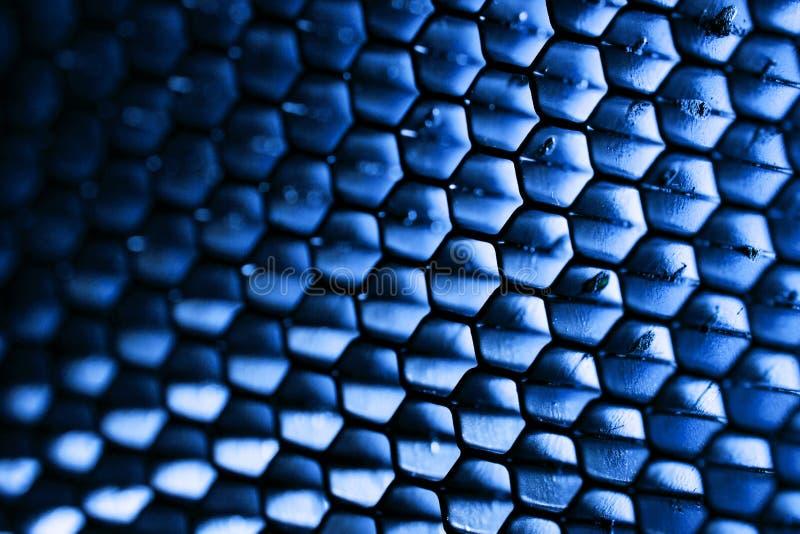 Stålsätta honungskakan fotografering för bildbyråer