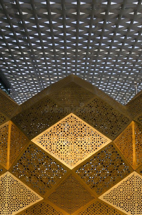 Moderna arabiskapaterns royaltyfri foto