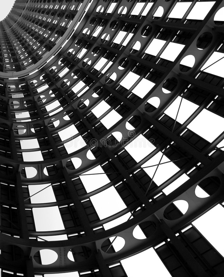 stålstruktur royaltyfri foto