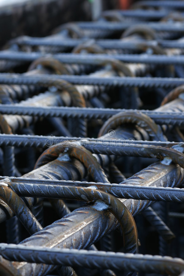 stålstruktur royaltyfria foton