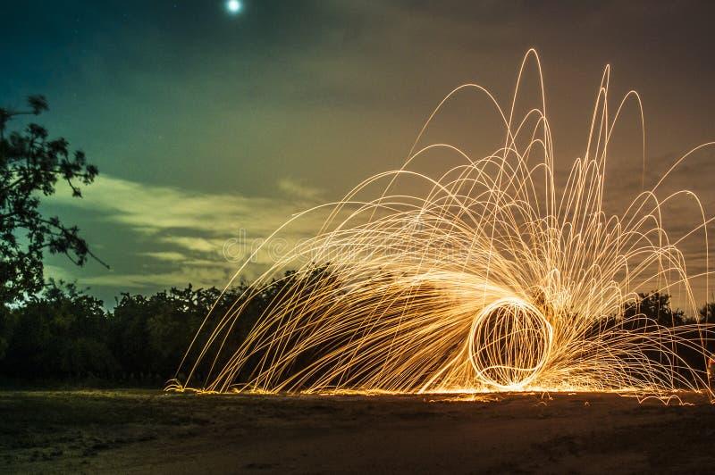 Stålull #1 fotografering för bildbyråer