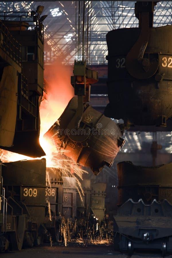 stålverk royaltyfria foton