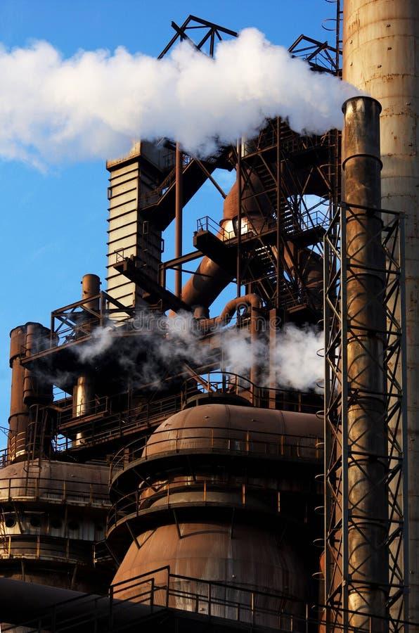 stålverk royaltyfria bilder