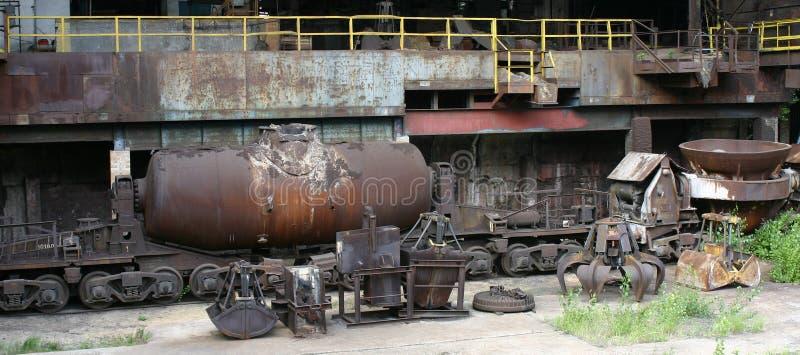 stålverkvitkovice royaltyfri fotografi
