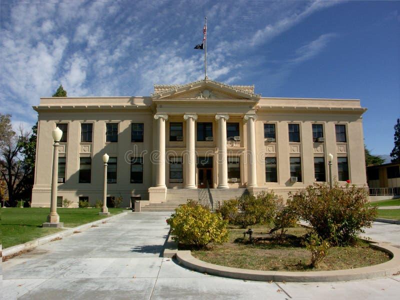 ståndsmässig domstolsbyggnad arkivbild