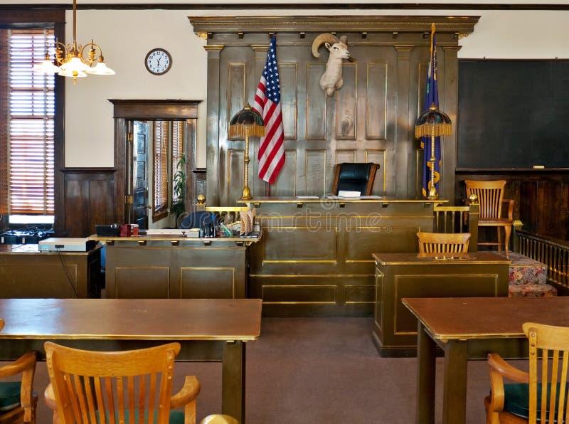 ståndsmässig domstolsbyggnadesmeraldaguldfält nevada arkivbilder