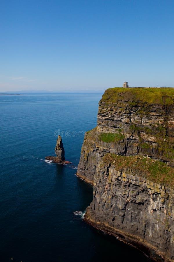 ståndsmässig ireland för clare klippor moher royaltyfria foton