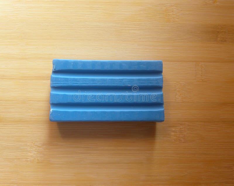 Stång för tvål för tvätteritvättmedel royaltyfria foton